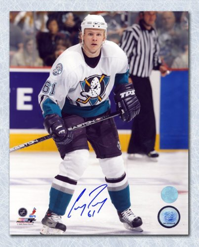 7c60ef5c2 Corey Perry Anaheim Ducks Autographed Signed Rookie Mighty Ducks 8x10 Photo  - Certified Authentic