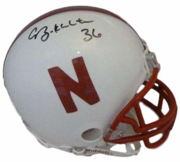 SGC Auth Irving Fryar Autographed Nebraska Cornhuskers Riddell Mini Helmet