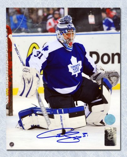 size 40 2dd51 6ab67 Curtis Joseph Toronto Maple Leafs Autographed Signed Winter ...