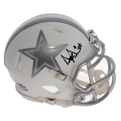3b0f50c80 Dak Prescott Autographed Signed Dallas Cowboys Alternate ICE Mini Helmet -  JSA Certified Authentic