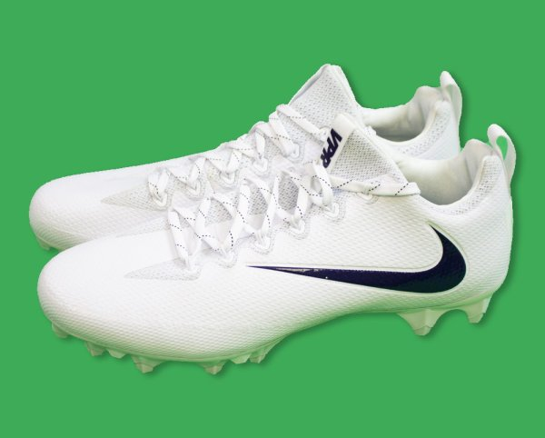 Dallas Cowboys Game-Used UNSIGNED Size 12 White Nike VPR Cleats
