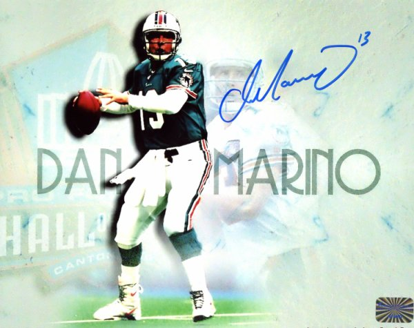 d5a8dc23921 Dan Marino Miami Dolphins Autographed Signed 8x10 Photo - Certified  Authentic