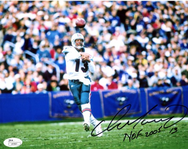 180757a11 Dan Marino Miami Dolphins Autographed Signed 8x10 Photo - JSA Authentic