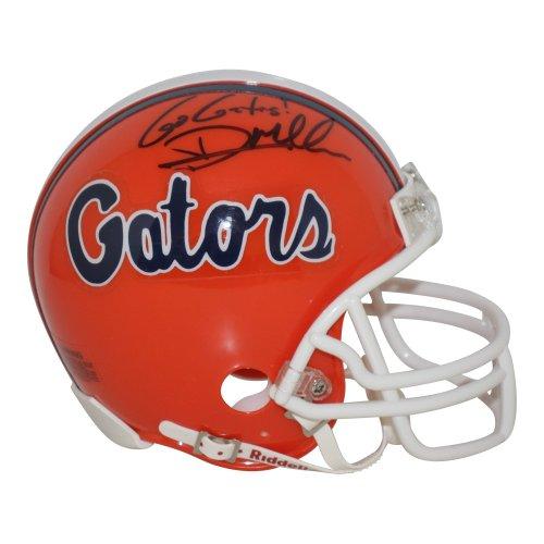 Dan Mullen Florida Gators Autographed Signed Riddell Mini Helmet Go Gators Inscription - Certified Authentic