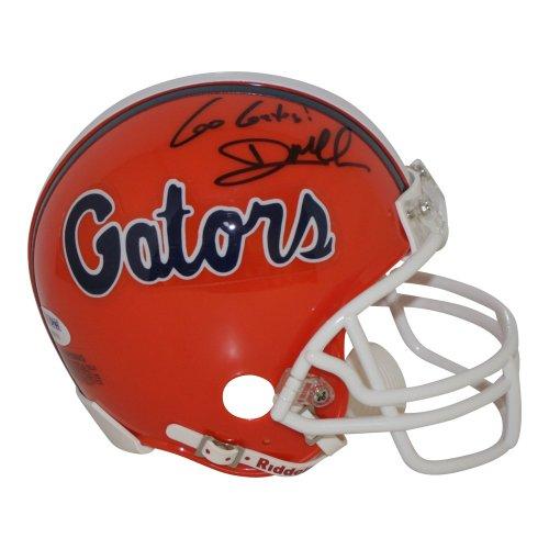 Dan Mullen Florida Gators Autographed Signed Riddell Mini Helmet Go Gators Inscription - PSA/DNA Authentic