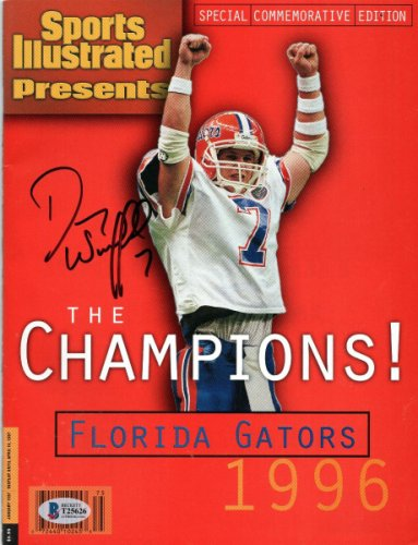 Danny Wuerffel Autographed Signed Florida Gators 1996 National Champions Sports Illustrated Beckett Authenticated