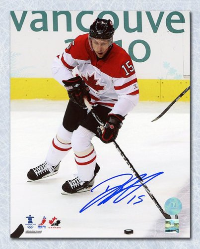 Dany Heatley Team Canada Autographed Signed 2010 Olympic Hockey 8x10 Photo  - Certified Authentic d134c4ced