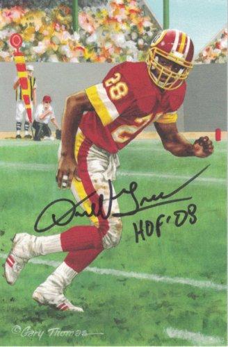 Wayne Millner Goal Line Art Card Washington Redskins