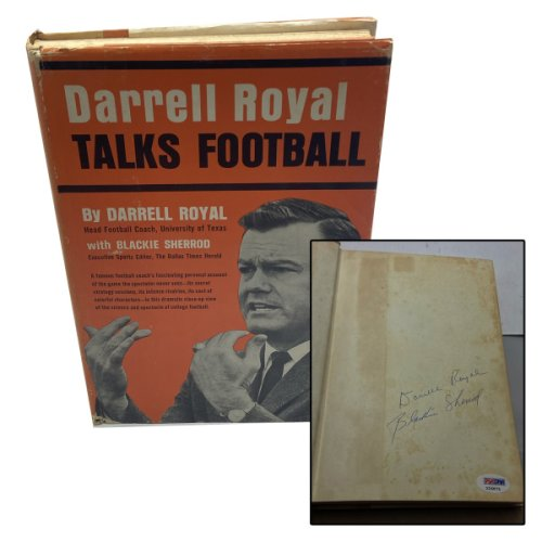 Darrell Royal Autographed Signed Talks Football Book - PSA/DNA Authentic