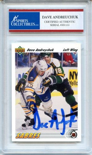 69f4ba8d Dave Andreychuk Autographed Memorabilia | Signed Photo, Jersey ...