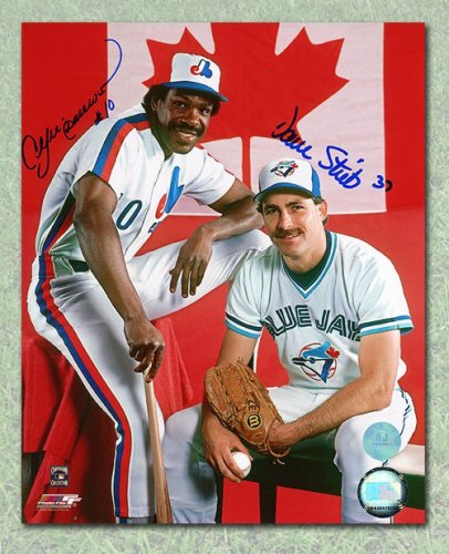 3064c2ba1fc Dave Stieb   Andre Dawson Dual Autographed Signed Canada MLB Blue Jays  Expos Autographed Signed 16x20