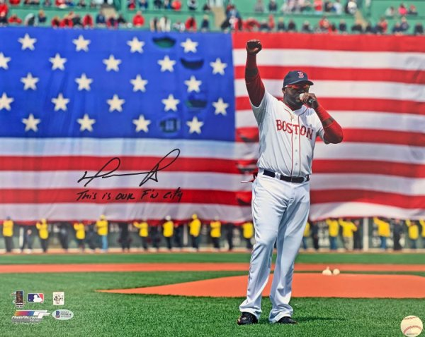 David Ortiz Boston Red Sox at bat launch 8x10 11x14 16x20 photo 035 Size 16x20