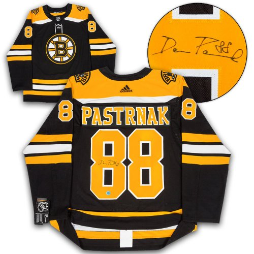 4842a397e David Pastrnak Boston Bruins Autographed Signed Adidas Authentic Hockey  Jersey - Certified Authentic