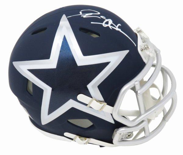 Deion Sanders Autographed Signed Dallas Cowboys AMP Alternate Series Riddell Speed Mini Helmet