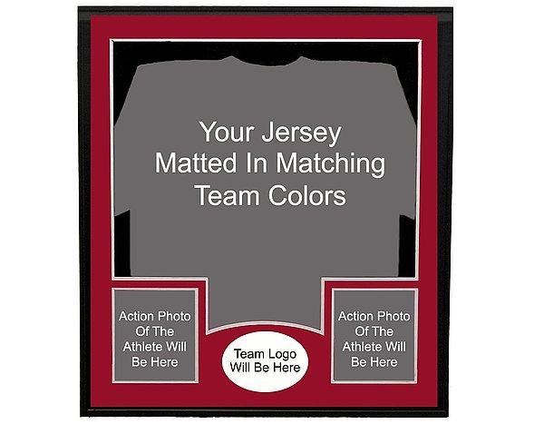 Deluxe Jersey Frame - Custom Made Frame
