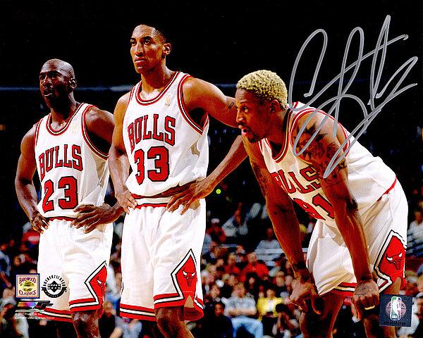 buy popular 238ed 68799 Dennis Rodman Autographed Memorabilia   Signed Photo, Jersey ...
