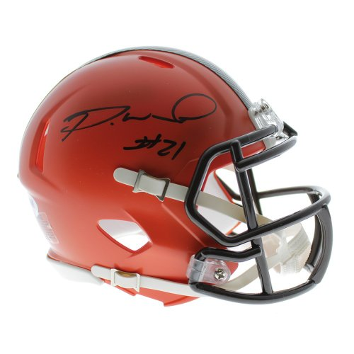 Denzel Ward Autographed Signed Cleveland Browns Riddell Speed Mini Helmet -  JSA Certified Authentic 6914fe48e