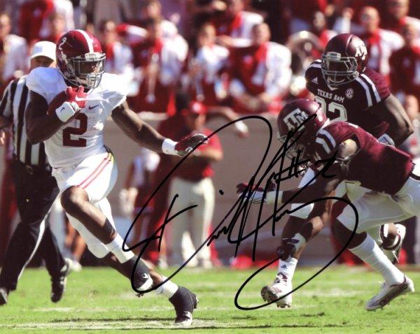 Derrick Henry Alabama Crimson Tide Autographed Signed 8x10 Photo - Certified Authentic