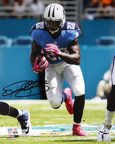 Derrick Henry Autographed Signed 16x20 Photo Tennessee Titans - Beckett Authentication