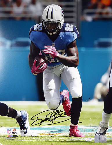 Derrick Henry Autographed Signed 16x20 Photo Tennessee Titans - PSA/DNA Certified