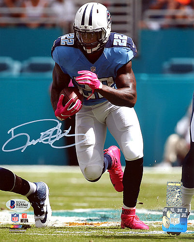 Derrick Henry Autographed Signed 8x10 Photo Tennessee Titans - Beckett Authentication