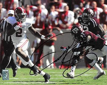 Derrick Henry Autographed Signed Alabama Crimson Tide 11x14 Photo #2