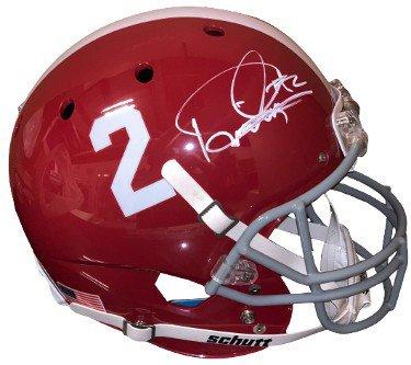 Derrick Henry Autographed Signed Alabama Crimson Tide #2 Schutt FS Rep Helmet- Beckett Witnessed (Heisman)
