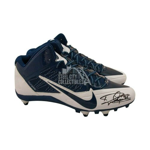 Derrick Henry Autographed Signed Nike Football Cleats Blue Flywire 3/4 - Beckett COA