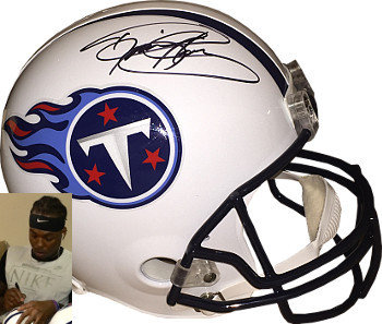 Derrick Henry Autographed Signed Tennessee Titans Full Size Replica Helmet