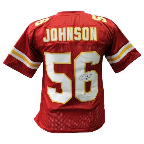 b4d9159181f Derrick Johnson Kansas City Chiefs Autographed Signed Custom Jersey - JSA  Authentic