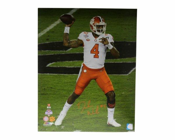 b1a4bf37474 Deshaun Watson Autographed Signed 16x20 Photo Clemson Tigers Orange Auto -  Certified Authentic