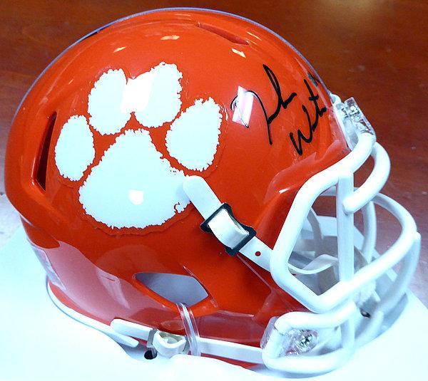 DeShaun Watson Autographed Signed Clemson Tigers Orange Speed Mini Helmet -  Beckett Authentication 1b3c5f5e0