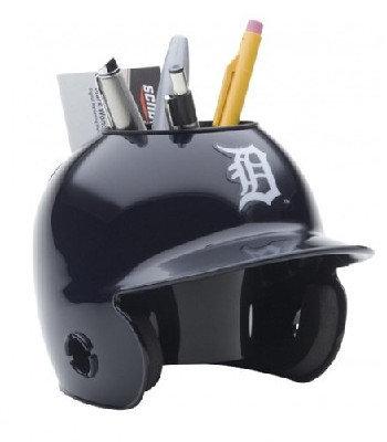 Detroit Tigers MLB Baseball Schutt Mini Batting Helmet Desk Caddy
