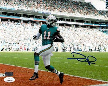 Devante Parker Autographed Signed Miami Dolphins 8X10 Photo - JSA Witness