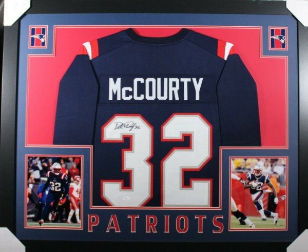 Devin McCourty Autographed Memorabilia   Signed Photo, Jersey ...