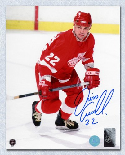 ac5774ca2 Dino Ciccarelli Detroit Red Wings Autographed Signed Hockey Action 8x10  Photo - Certified Authentic