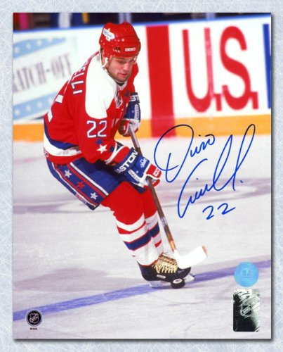 Dino Ciccarelli Washington Capitals Autographed Signed Hockey Sniper 8x10  Photo - Certified Authentic bb142e612