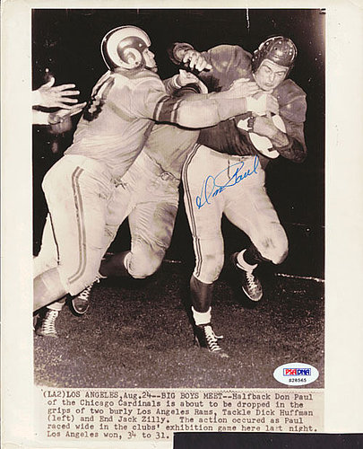 Don Paul Autographed Signed 8x10 Photo Cardinals - PSA/DNA Certified