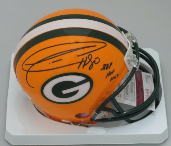 Donald Driver Autographed Signed Packers #80 Mini Helmet Auto With Gbp HOF 2017 - JSA