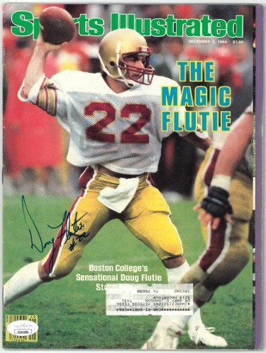 Doug Flutie Autographed Signed Sports Illustrated Full Magazine 12/3/1984 #22- JSA #EE63284 (Boston College/Miracle in Miami)