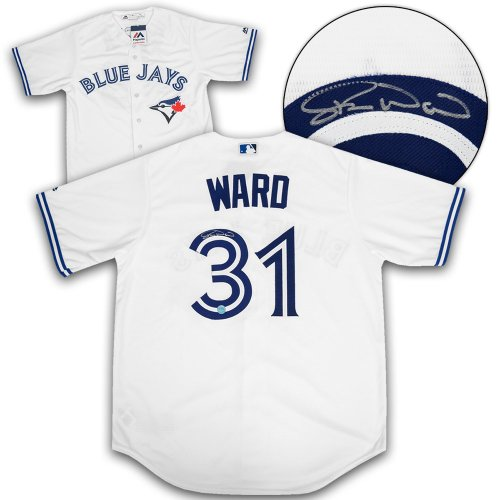 26e1bb4d Duane Ward Toronto Blue Jays Autographed Signed Replica MLB Baseball Jersey  - Certified Authentic