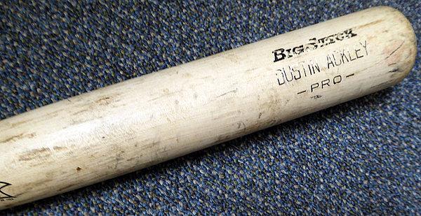 Dustin Ackley Game Used Rawlings Big Stick Bat New York Yankees