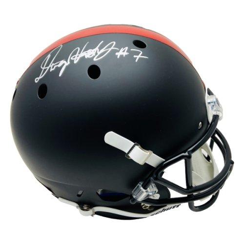Dwayne Haskins Ohio State Autographed Signed Full Size Schutt Replica Black Matte Helmet - JSA Authentic