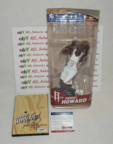Dwight Howard Autographed Signed Autographed Mcfarlane Base Figure PSA/DNA COA