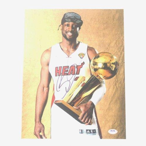 Dwyane Wade Autographed Signed 11X14 Photo PSA/DNA Miami Heat Autographed