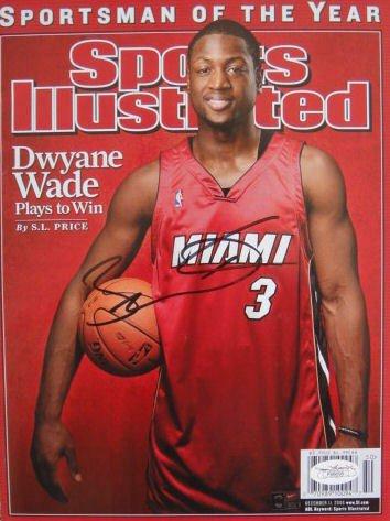 Dwyane Wade Autographed Signed 2006 Sports Illustrated Magazine JSA