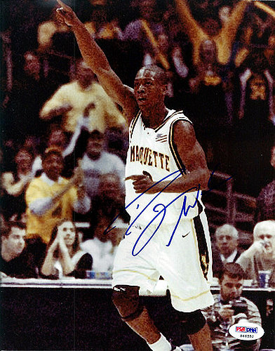 Dwyane Wade Autographed Signed 8x10 Photo Marquette - PSA/DNA Certified