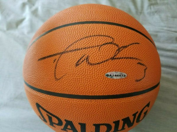 Dwyane Wade Autographed Signed Autographed UDA UDA Spalding Official Basketball Heat
