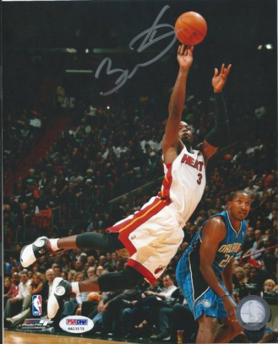 Dwyane Wade Autographed Signed PSA/DNA Certified 8X10 Photograph Miami Heat Autographed
