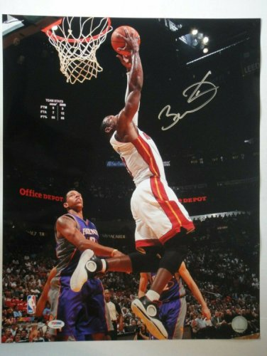 Dwyane Wade Autographed Signed PSA/DNA Certified Miami Heat 16X20 Photograph Auto Authentic